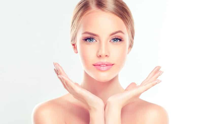 Resultado dos benefícios do peeling no rosto